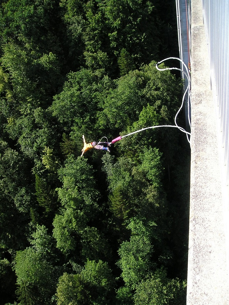 Bungee Jumping in California